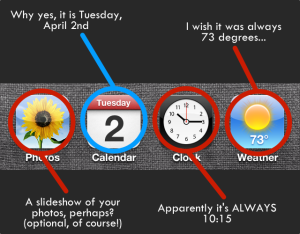 live app icons
